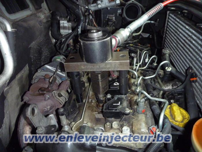 Renault Trafic II Opel Vivaro 2001-2006 1.9 DCI F9Q Injecteur de Carburant